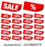 set of twenty two diagonal red... | Shutterstock .eps vector #1470880979