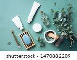 white cosmetic bottles ... | Shutterstock . vector #1470882209