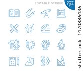 education related icons.... | Shutterstock .eps vector #1470886436
