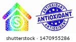 dot rainbow gradiented... | Shutterstock .eps vector #1470955286