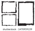 abstract grunge border frames... | Shutterstock .eps vector #1470959159