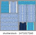vector seamless pattern from... | Shutterstock .eps vector #1471017260