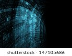 abstract futuristic background | Shutterstock . vector #147105686