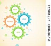 infographics motivation... | Shutterstock .eps vector #147108116