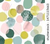 trendy seamless pattern of... | Shutterstock .eps vector #1471115663