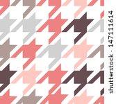 houndstooth seamless pattern | Shutterstock .eps vector #147111614