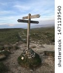 Pennine Way Signpost Yorkshire...