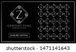 luxury and elegant initial... | Shutterstock .eps vector #1471141643