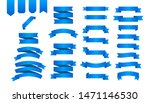 flat ribbons banners flat... | Shutterstock .eps vector #1471146530