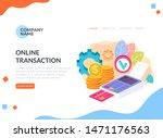 payment system money...   Shutterstock .eps vector #1471176563