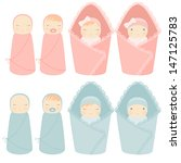 Vector Illustration Newborn...