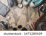 travel concept background.... | Shutterstock . vector #1471285439