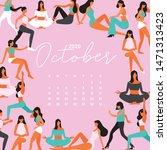 October   2020 Calendar With...