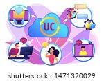 communication integration.... | Shutterstock .eps vector #1471320029