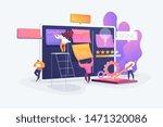 workflow organization. office... | Shutterstock .eps vector #1471320086
