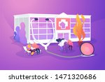 elderly people caregiving ... | Shutterstock .eps vector #1471320686