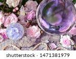 still life with magic crystal... | Shutterstock . vector #1471381979