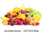 Fresh Fruits And Berries...