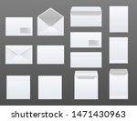 mockups set of white blank... | Shutterstock .eps vector #1471430963