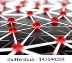 abstract network | Shutterstock . vector #147144224