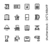 set of simple icons related to... | Shutterstock .eps vector #147148649
