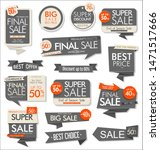 modern collection of stickers... | Shutterstock . vector #1471517666