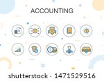 accounting trendy infographic...