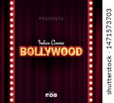 bollywood indian cinema. movie... | Shutterstock .eps vector #1471573703