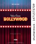 bollywood indian cinema. movie... | Shutterstock .eps vector #1471573709