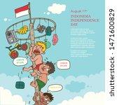 celebration indonesia...   Shutterstock .eps vector #1471600829