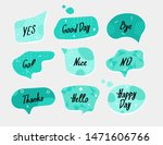 blue speech bubbles with white...   Shutterstock .eps vector #1471606766