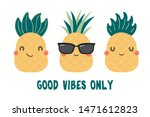 collection of cute funny... | Shutterstock .eps vector #1471612823