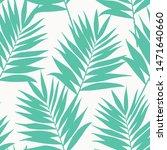 palm leaves pattern. endless...   Shutterstock .eps vector #1471640660