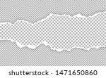 horizontal torn paper edge.... | Shutterstock .eps vector #1471650860