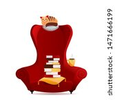Cozy Vintage Armchair With...