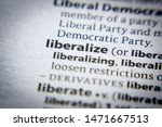 Small photo of Word or phrase Liberalize in a dictionary