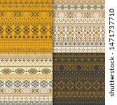 mexican tribal ethnic motifs...   Shutterstock .eps vector #1471737710