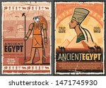 Egyptian Travel Vector Posters...