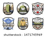 camping  travel tour  summer... | Shutterstock .eps vector #1471745969
