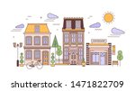 urban landscape or cityscape... | Shutterstock .eps vector #1471822709
