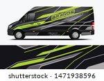 van wrap design. wrap  sticker... | Shutterstock .eps vector #1471938596