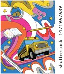 back to school illustration... | Shutterstock .eps vector #1471967639