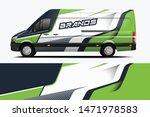 van wrap design. wrap  sticker... | Shutterstock .eps vector #1471978583