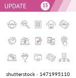 Update Line Icon Set....