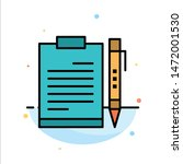 document  business  clipboard ...   Shutterstock .eps vector #1472001530