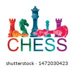 chess colorful figures pieces... | Shutterstock .eps vector #1472030423