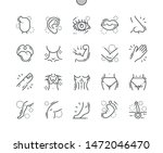 body parts well crafted pixel... | Shutterstock .eps vector #1472046470