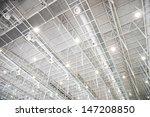 Modern Glass Roof Inside Offic...