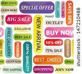 sale background | Shutterstock .eps vector #147210488
