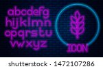 glowing neon cereals set with... | Shutterstock .eps vector #1472107286